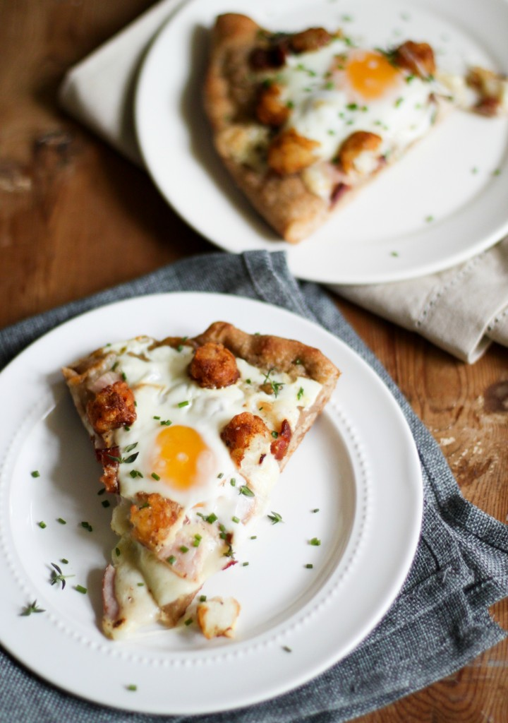 TheChic_slice of Breakfast Pizza