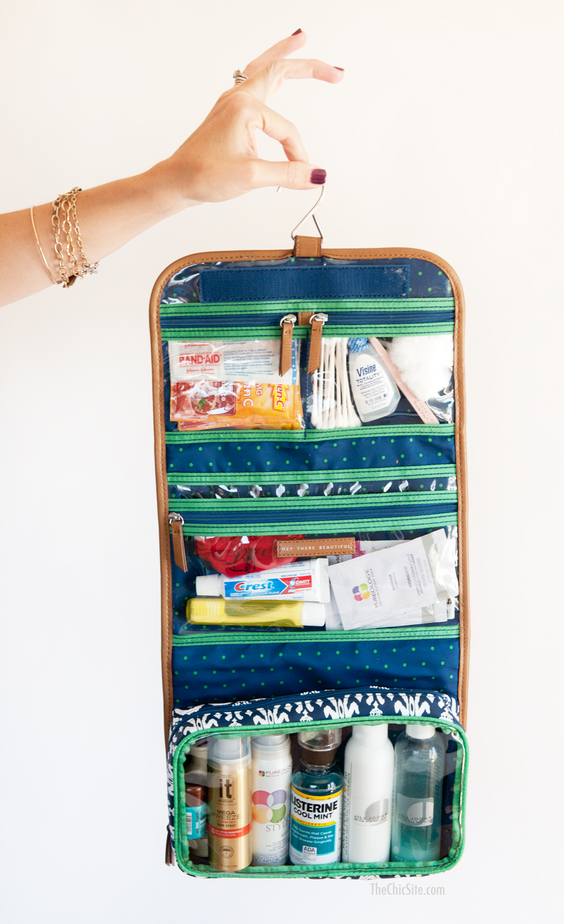 stella and dog toiletry bag