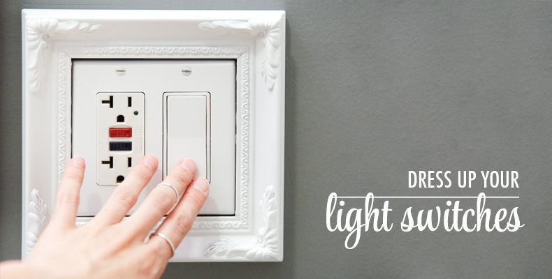 Dressed Up Light Switch