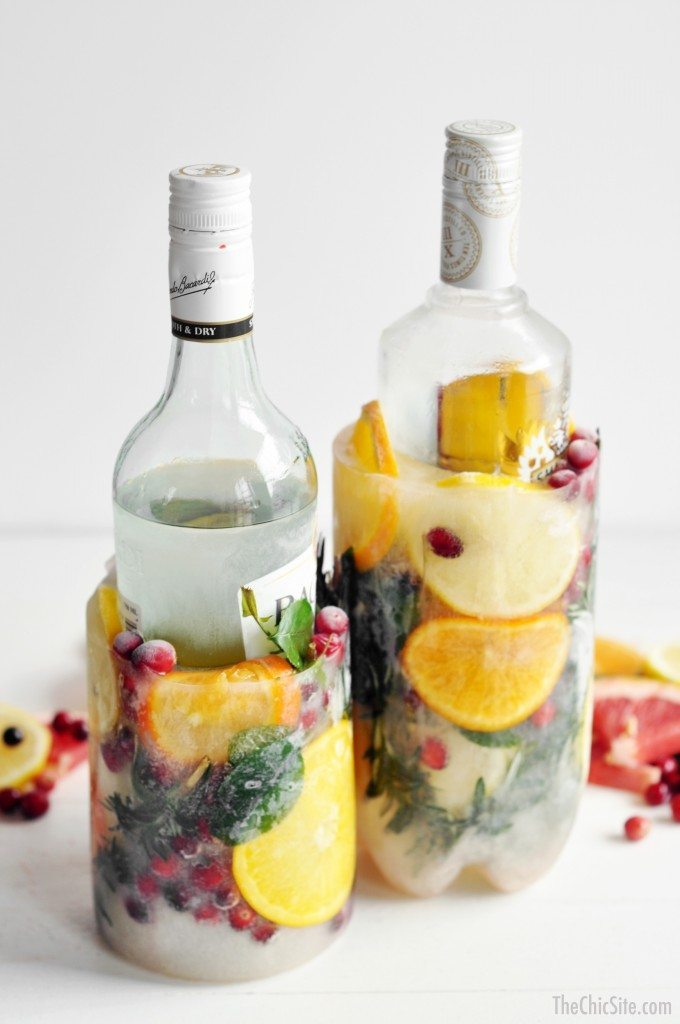 how to keep liquer cold for parties