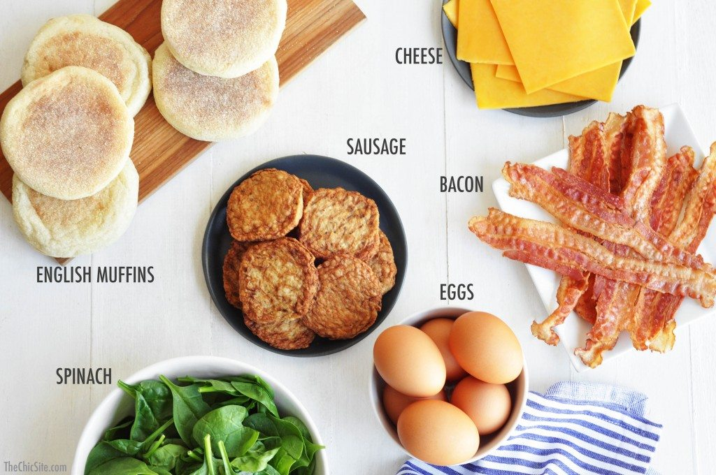 how to make breakfast sandwiches at home