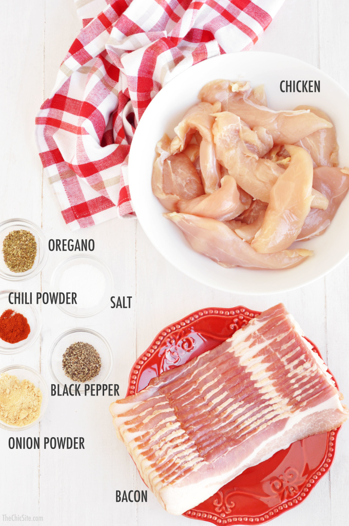how to make bacon wrapped chicken