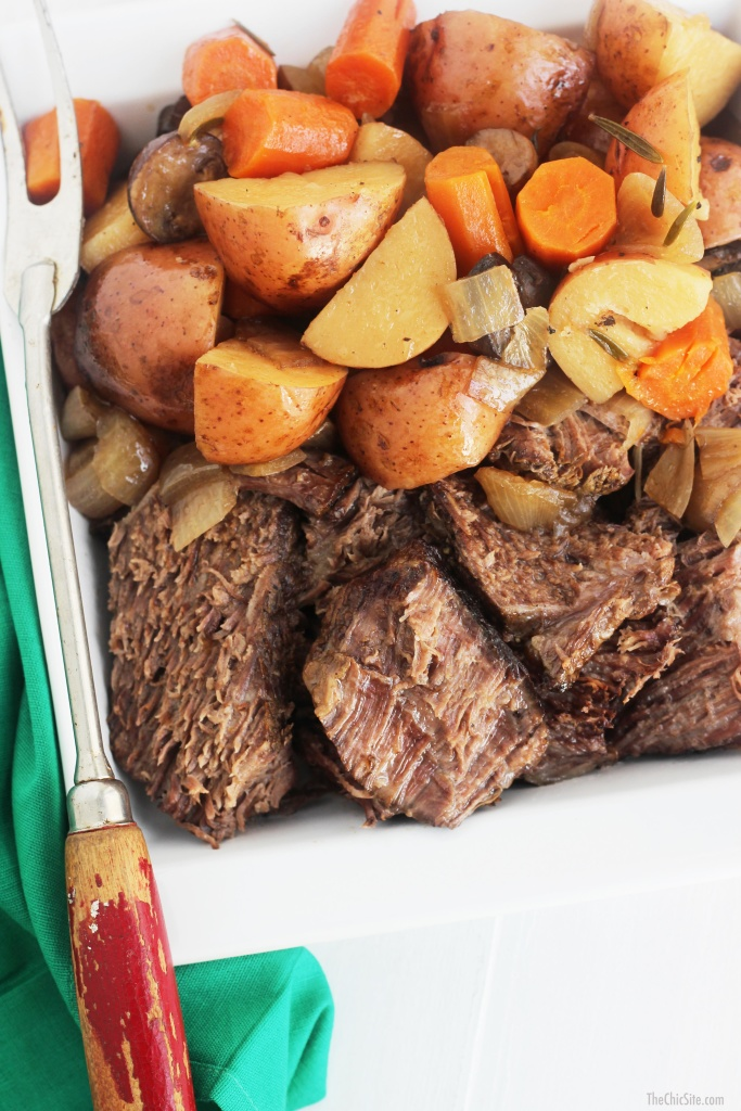 beer glazed pot roast
