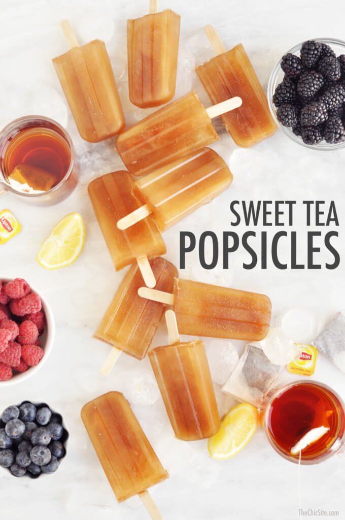tea popsicles the chic site