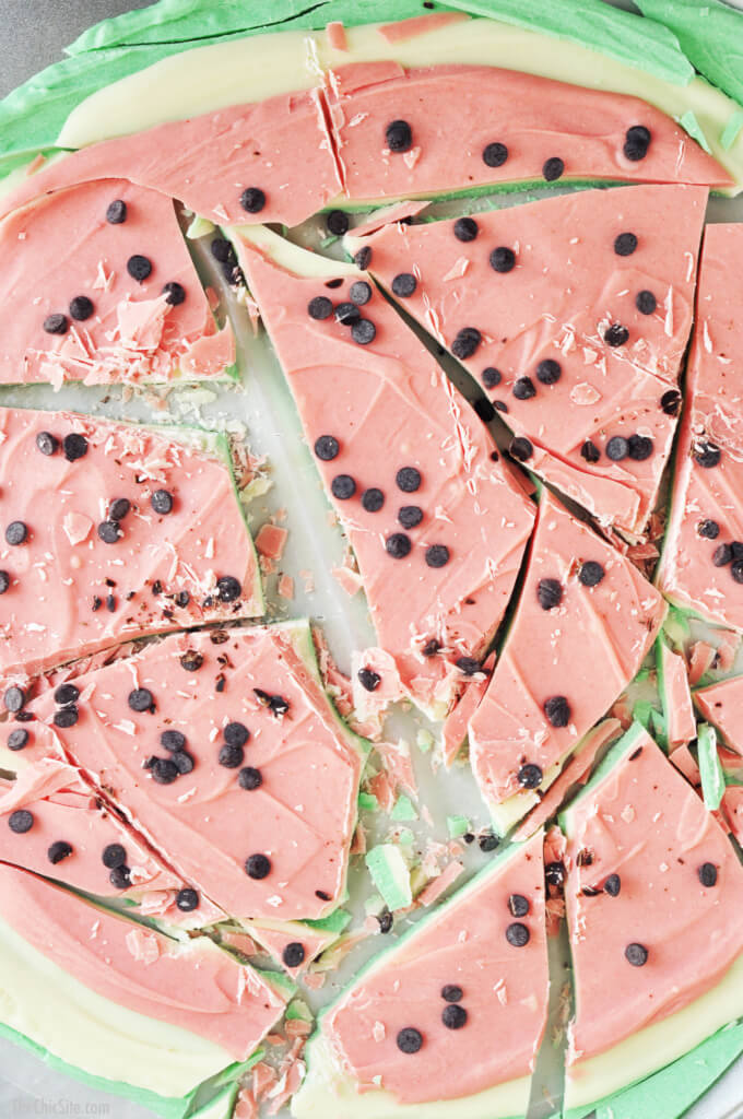 watermelon bark recipe